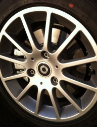 Smart alloy wheel
