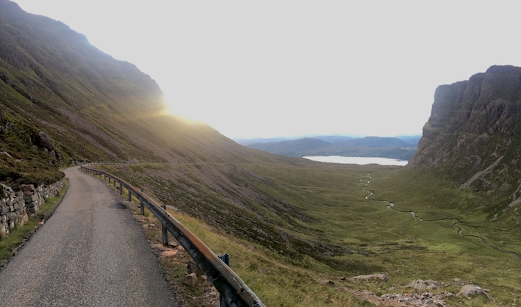 Bealach na Ba looking south from about half way