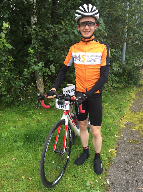 Richard Sanderson ready to start Bealach Mor Sportive 2017